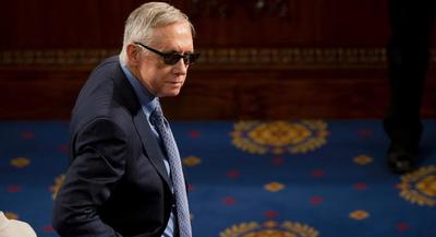 Senate Minority Leader Harry Reid predicted the Senate will take up the Intelligence Committee's bill before Memorial Day, when Congress next takes a recess. | AP