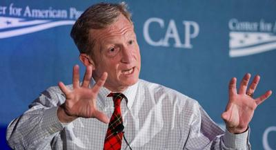 Environmentalist Tom Steyer will probably shift more resources to his super PAC NextGen Climate Action. | AP