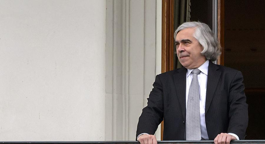 Ernest Moniz wanted the review to be a narrow, actionable document. | GETTY