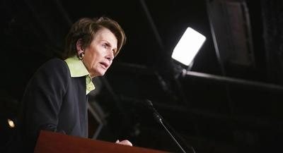 Minority Leader Nancy Pelosi (D-Calif.) is expected to attend a fundraising event for Rep. Anna Eshoo. | GETTY