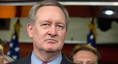 Sen. Mike Crapo later told POLITICO that he's trying to pressure budget negotiators to cut about $140 billion over the next decade. | AP