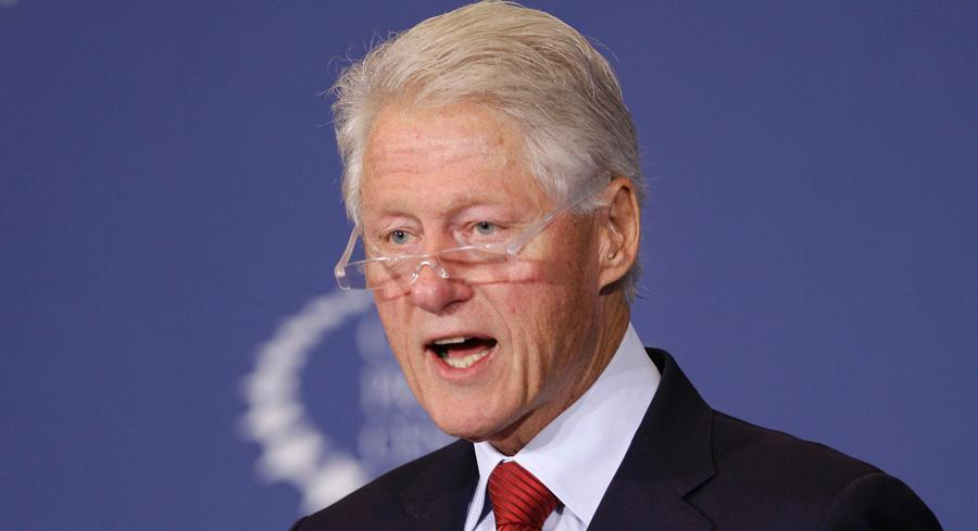 On Friday, some potential kindling was added to the fire with the release of documents from the late 1990s by Bill Clinton's presidential library. | AP
