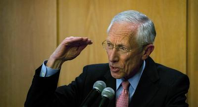 Stanley Fischer jumped into the 'too big to fail' debate. | AP