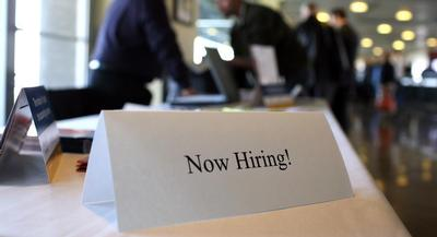 The unemployment rate ticked up slightly because the labor force grew by 264,000 since January. | GETTY