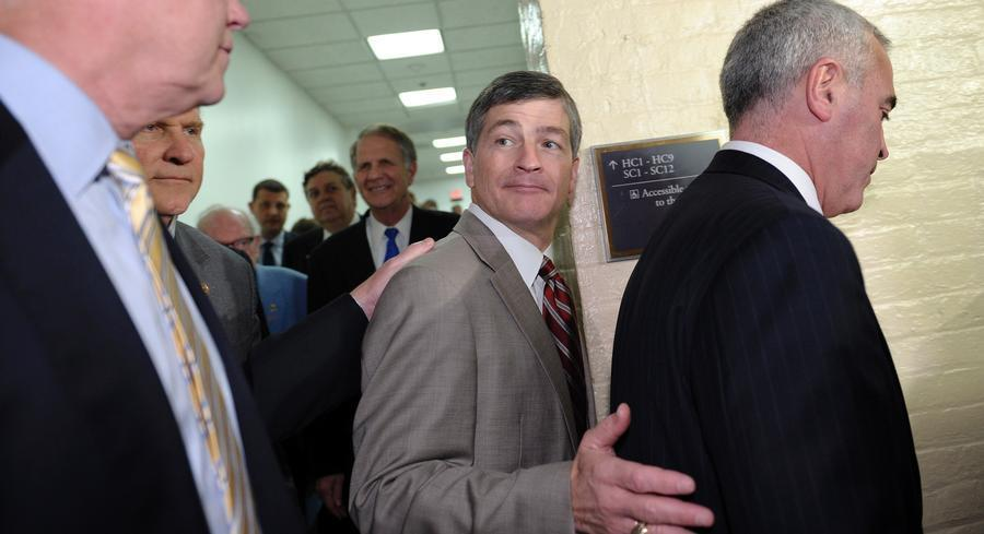 """""""I believe the momentum is in our favor,"""" said House Financial Services Chairman Jeb Hensarling. 