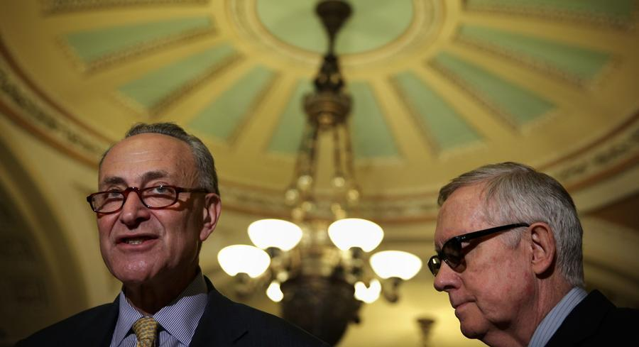Once viewed as a reliable ally of banks and financial firms, Schumer has had a strained relationship with financiers in the wake of the financial crisis. | GETTY