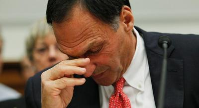 Richard Fuld took a public beating when he was hauled before Congress to explain Lehman Brothers' mistakes in the wake of the firm's collapse. | AP