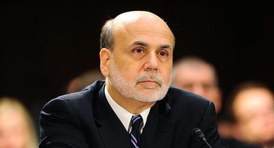 Fed Chairman Ben Bernanke had to deny Congress' request for help in early 2009 to prop up the big automakers, according to a March 2009 board discussion. | JOHN SHINKLE/POLITICO