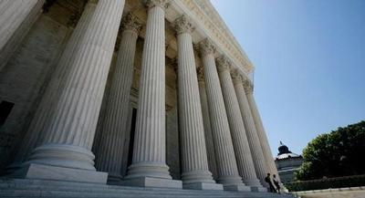 The Supreme Court's action Tuesday leaves in place that county's three-year-old Safe Drug Disposal Ordinance, which requires drug makers to create, operate and fund programs through which consumers can turn in unused prescription medicine.   REUTERS