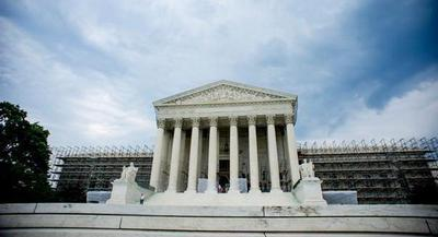The Supreme Court building is pictured. | Jay Westcott/POLITICO