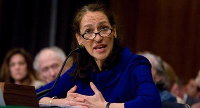 Margaret Hamburg fielded a flurry of questions from anxious Republican lawmakers about the implementation of the Food Safety Modernization Act. | AP