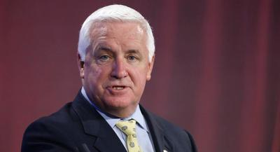 Pennsylvania Gov. Tom Corbett is requesting approval for a one-year pilot program that would be voluntary and offer reduced premiums. | AP
