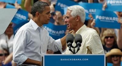 Charlie Crist said Democrats on Capitol Hill are 'over thinking' when it comes to the midterms. | AP