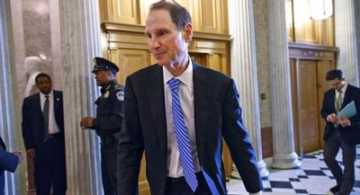 Much of the latest finger-pointing is toward Democratic leaders in the Senate. Finance Committee Chairman Ron Wyden hasn't resumed his predecessor's discussions with the other committees over a funding source. | AP