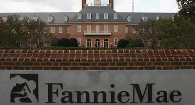 Fannie Mae headquarters is pictured. | GETTY