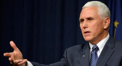 Indiana Gov. Mike Pence issued an executive order that gave local health officials authority to establish a 'limited and focused' 30-day needle exchange. | AP
