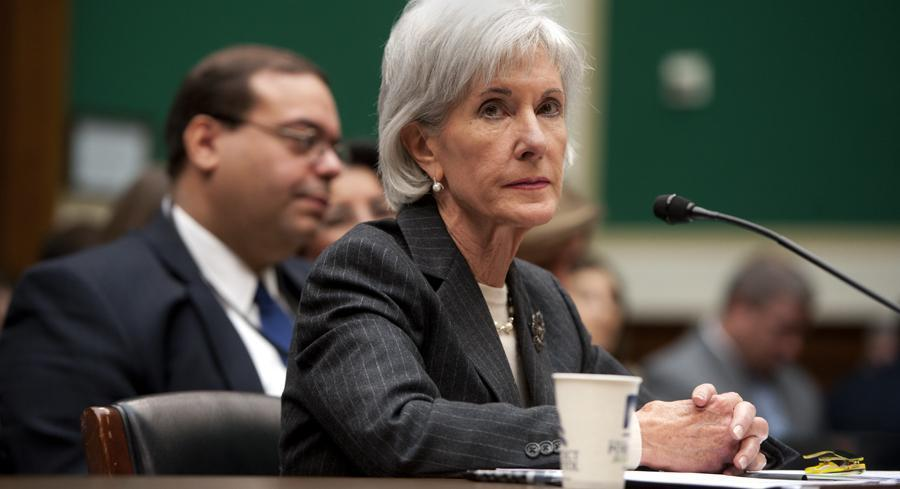 """I can't tell you because I don't know that,"" Health and Human Services Secretary Kathleen Sebelius said Wednesday. 