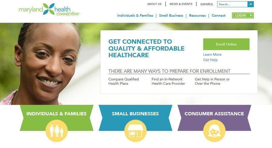 The Maryland Health Benefit Exchange is among the worst performing in the country. | SCREENGRAB