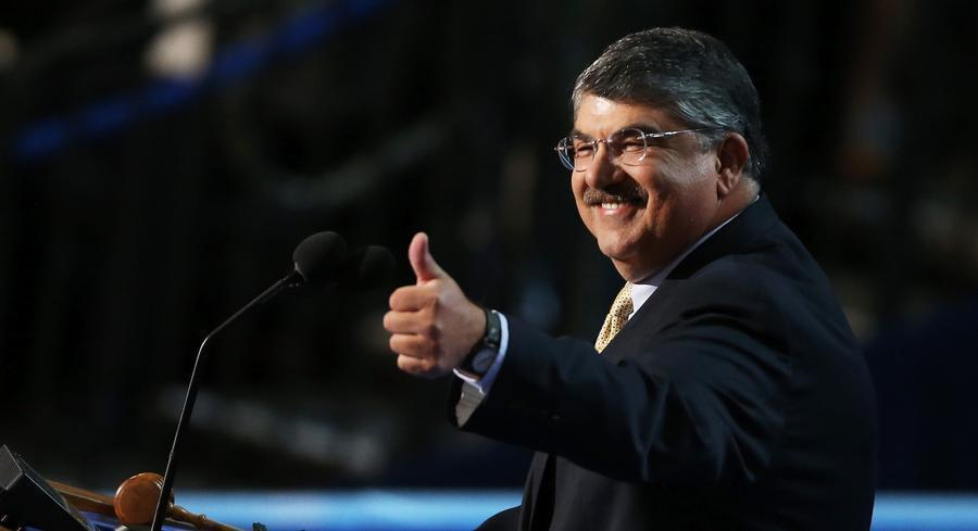 Trumka was optimistic Monday about organized labor's ability to influence Clinton — and the election. | GETTY