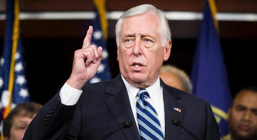 The groups are holding a Memorial Day picnic outside of House Minority Whip Steny Hoyer's office. | GETTY