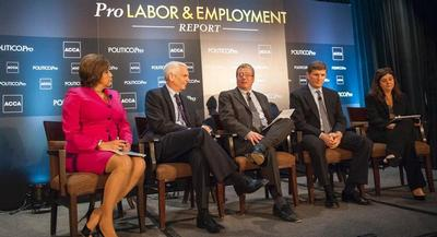 Watch POLITICO's Labor & Employment's panel. | RODNEY LAMKEY JR. for POLITICO