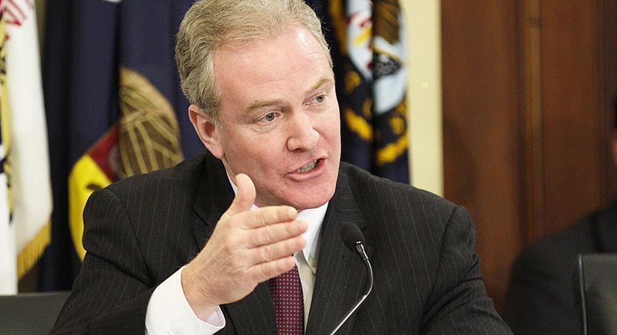 Rep. Chris Van Hollen is the ranking Democrat on the House Budget Committee. | M. SCOTT MAHASKEY/POLITICO