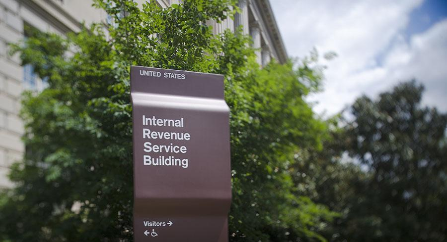 The IRS audited 1 percent of the tax returns filed by large partnerships with 100 or more partners and $100 million or more in assets from 2002-2012. | JOHN SHINKLE / POLITICO