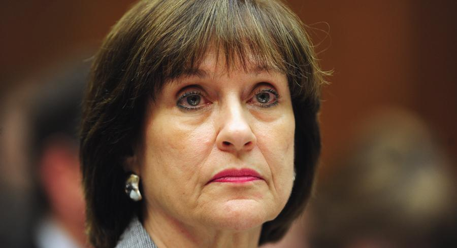 Former IRS official Lois Lerner evoked her Fifth Amendment right to refuse to answer self-incriminating questions at a House Oversight and Government Reform hearing. | JOHN SHINKLE/POLITICO