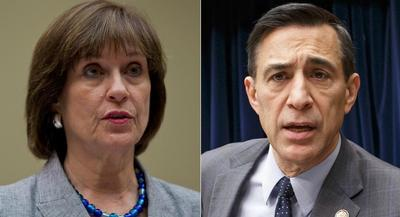 Lois Lerner has been accused by House Oversight Chairman Darrell Issa of not sharing the whole picture on her tenure at the IRS. | AP