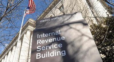 The exterior of the Internal Revenue Service building in Washington, is shown. | AP