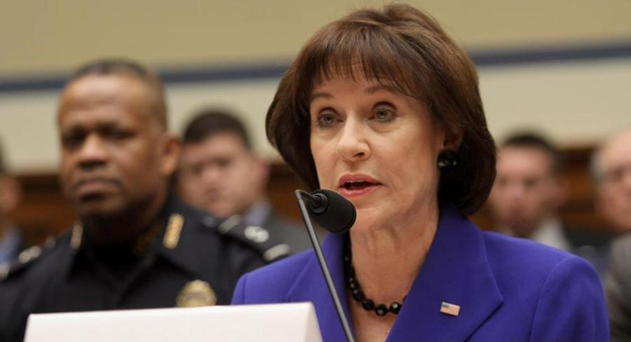 Lois Lerner cited her Fifth Amendment right not to incriminate herself during congressional testimony on March 5, 2014. | AP