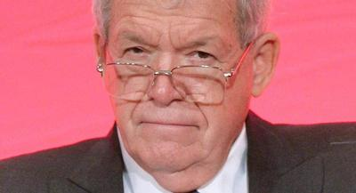 A federal grand jury charged Dennis Hastert with intentionally withdrawing large sums of money in increments of less than $10,000 to avoid triggering federal reporting requirements. | GETTY