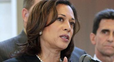 Despite her easy statewide reelection victory last year, Kamala Harris isn't well-known. | AP
