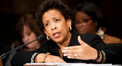 Lynch was nominated 117 days ago. | JOHN SHINKLE/POLITICO