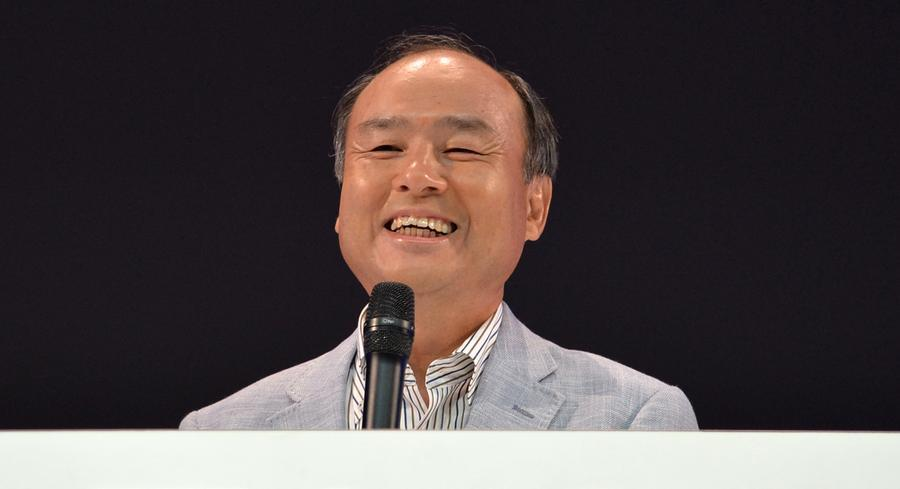 Masayoshi Son used his visit to make the pitch for increased competition — but without mentioning his T-Mobile desires. | GETTY