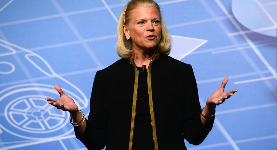 "IBM CEO Virginia Rometty said the U.S. government had to facilitate the ""free movement of information,"" particularly by stressing digital issues through trade talks. 