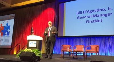 FirstNet general manager Bill D'Agostino is pictured. | COURTESY OF NTIA