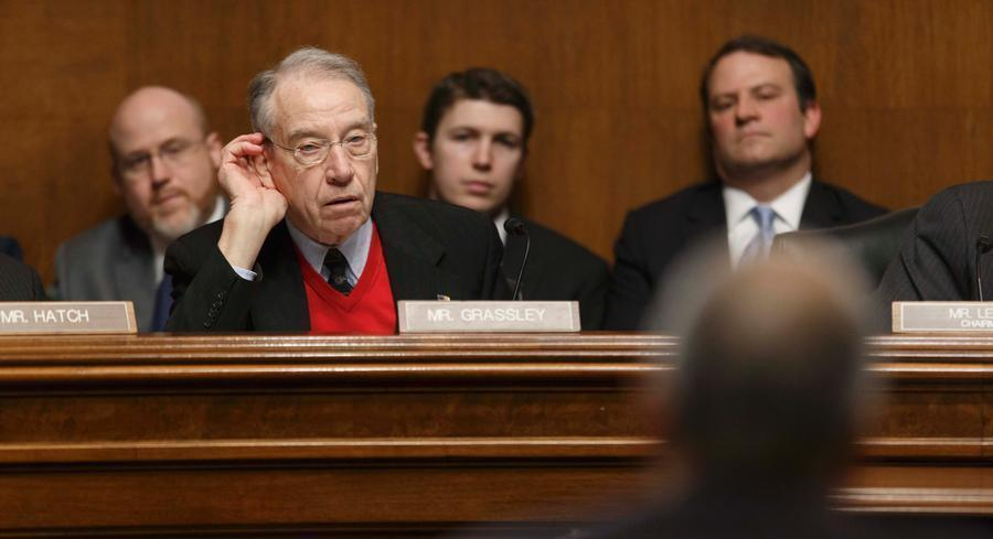 Grassley, now the Senate Judiciary chairman, says he's confident that the change in power in Congress will help move things along. | AP