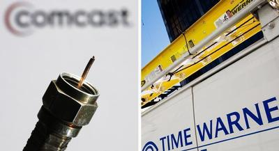 Comcast racked up a total lobbying bill of more than $3 million during the first quarter of this year. | AP