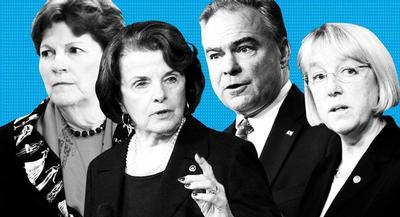 A solid victory on fast track in the Senate could boost votes in the lower chamber. | AP and GETTY