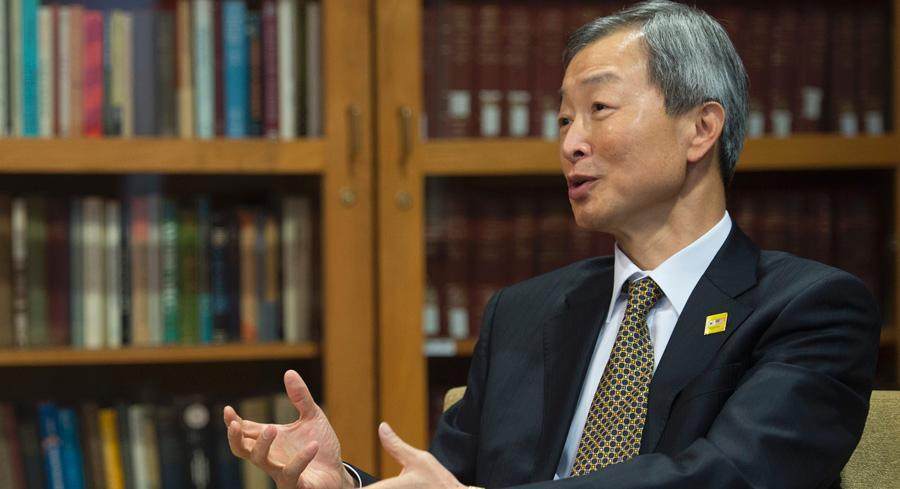 Ambassador Ahn Ho-young said, 'we are resolved in Korea to remove this glitches' from the free trade agreement with the U.S. | GETTY