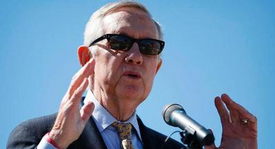 Pro-trade lawmakers in both parties expressed irritation with Sen. Harry Reid on Monday. | AP