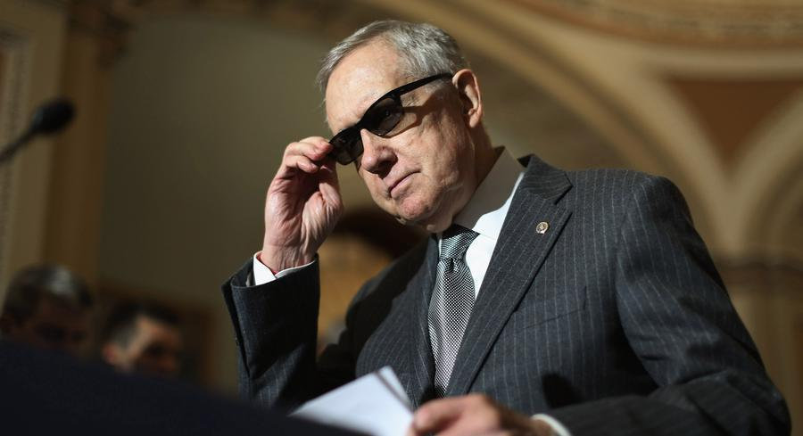 Senate Minority Leader Harry Reid is pictured. | GETTY
