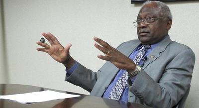Rep. Jim Clyburn is among the roughly dozen undecided Democrats who may well decide whether Obama clinches a legacy-burnishing accomplishment or is stymied once again by Congress. | AP