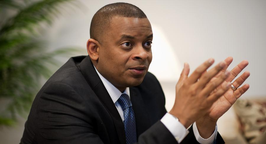 Department of Transportation Secretary Anthony Foxx is pictured. | JOHN SHINKLE/POLITICO