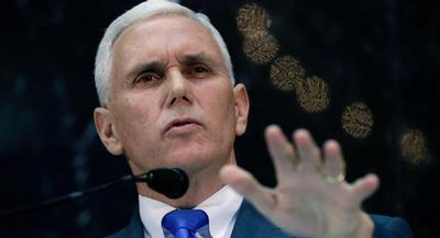 For Democrats, Indiana Gov. Mike Pence's move offers another chance to paint Republicans as religious extremists on the wrong side of history. | AP
