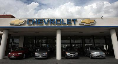 Last month, GM said it was recalling certain model years of Chevrolet, Pontiac and Saturn vehicles from the last decade. | GETTY