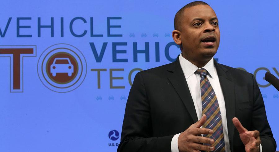 Transportation Secretary Anthony Foxx has hit the road this week to try to drum up support for a new transportation bill. | GETTY