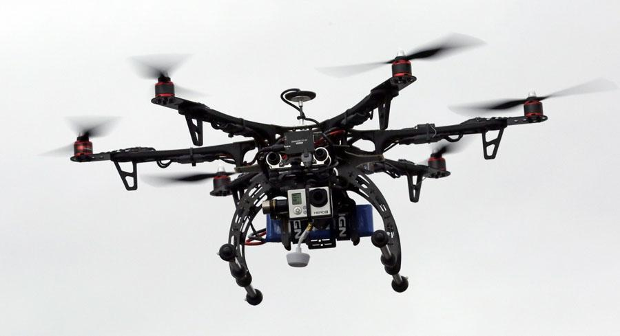 Texas EquuSearch has used drones since 2005 and says the technology has been responsible for locating at least 11 sets of remains.| AP