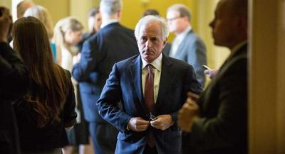 """Sen. Bob Corker called the idea of so-called Authorization of Military Force legislation little more than an """"intellectual exercise."""" 